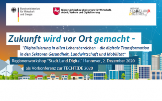 "Regionenworkshop ""Stadt.Land.Digital"" Hannover"